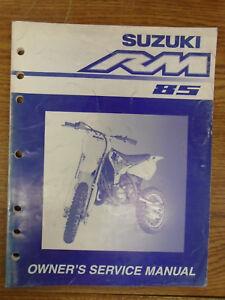 suzuki rm85 manual ebay rh ebay com New Suzuki Motorcycles 2012 Suzuki RM 85
