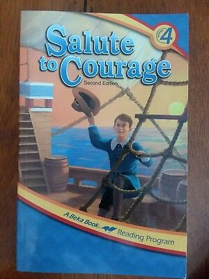 Used, Salute To Courage, A Beka Reader, 4th Grade for sale  Santa Maria