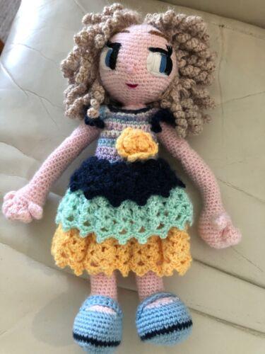 Amigurumi  Doll Pattern  Leilani