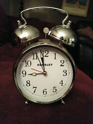 Crosley Vintage Metal Alarm Clock