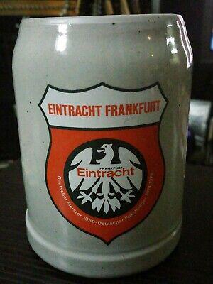 Germany Football Soccer Eintracht Frankfurt Stoneware .5L Beer Mug Stein
