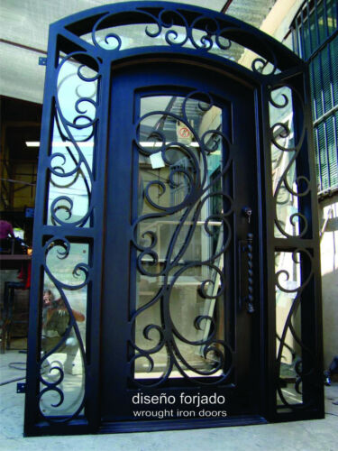 DISENO FORJADO / WROUGHT IRON DOORS - Handcrafted in Mexico