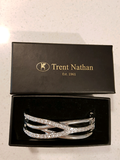 New Nathan Trent silver bracelet with gift box
