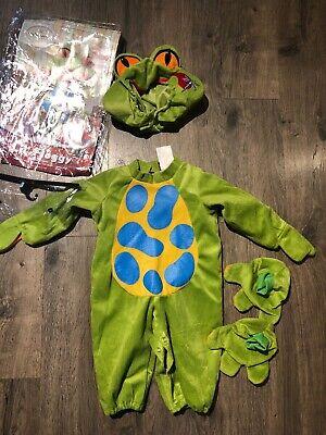 Baby Animal Halloween Costume Lil' Froggy Little Green Frog 6-12 months S (Froggy Kostüm Babys)