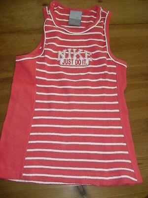 NIKE, Sportswear, T-Shirt, Shirt, Gr.M, 140, Shirt, Mädchen,rot, TOP, Tank Top ()