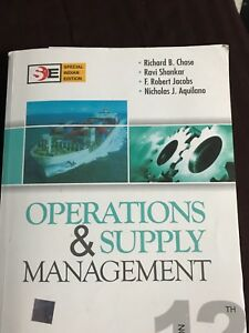Selling operations & supply management