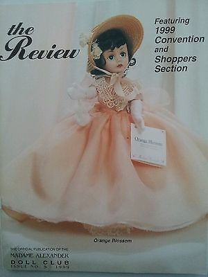 The Review Official Publication Madame Alexander Doll Club Catalog Issue 5, 1999