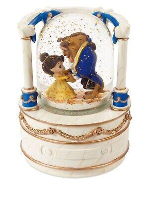 Precious Moments Disney Beauty and the Beast Musical Snow Globe