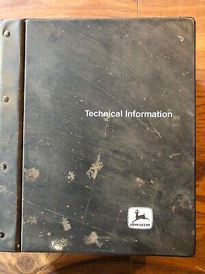 John Deere Tractor Technical Manual 4050 4250 4450 4650 4850