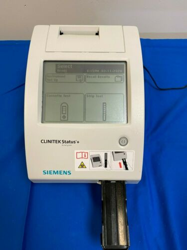 Siemens CLINITEK Status Plus Urine Chemistry Analyzer, Good Working