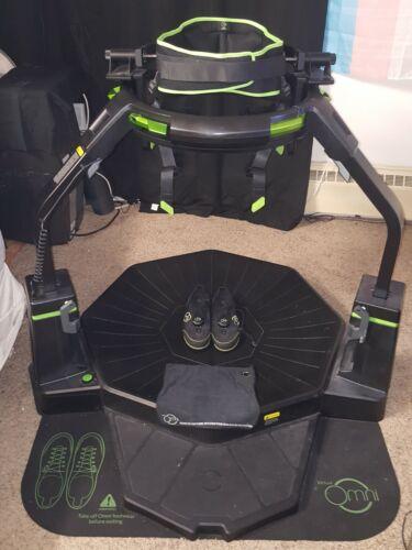 Virtuix Omni Virtual Reality VR Treadmill Platform w/ Adjustable Arm & Ring