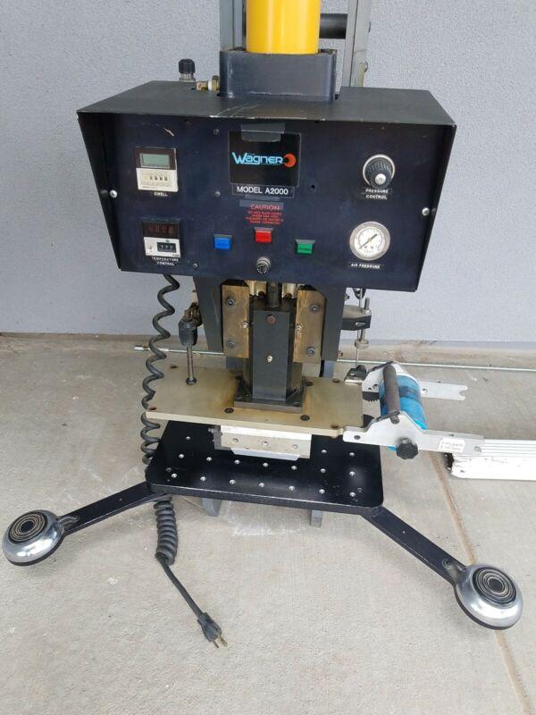 Wagner Industrial Pressure Heat Sealer (Model A2000)