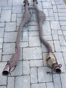 89 Ford Mustang catalytic convertor  H pipes