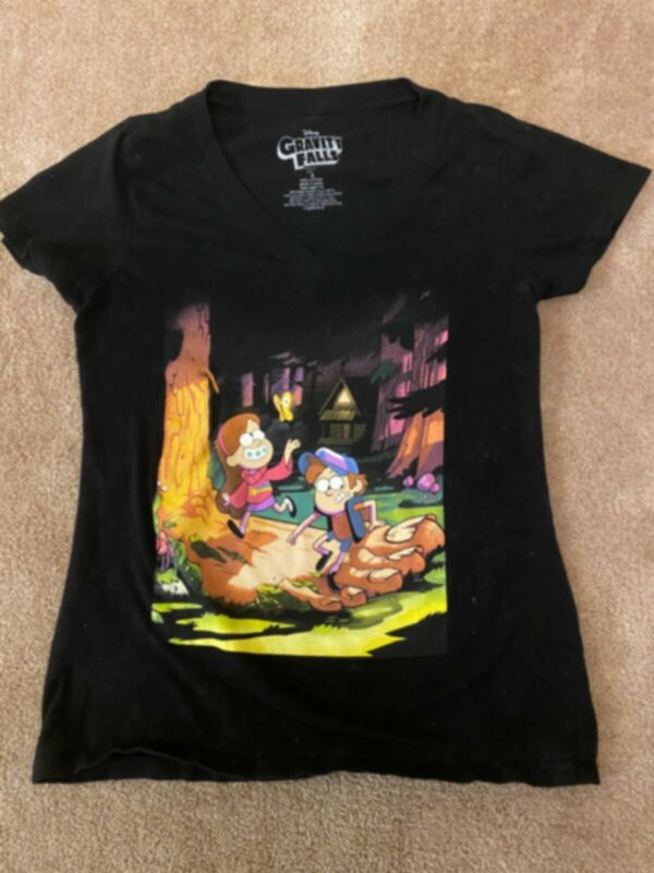 Gravity Falls T Shirt Teen Youth Size S Small Great Condition