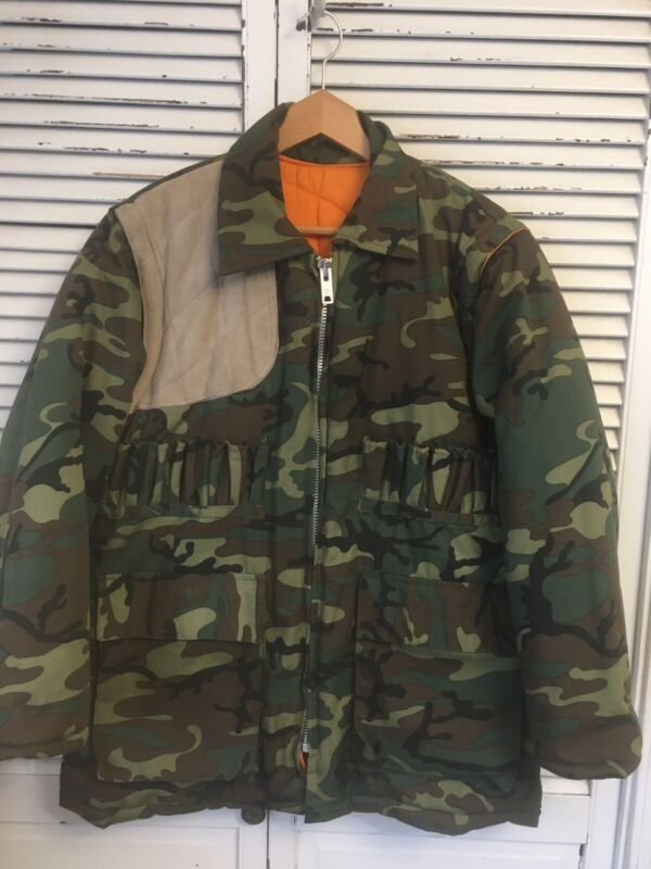 Camouflage Insulated Convertible Hunting Jacket Vest Men's Medium Unbranded