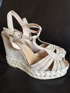 Leather sandals- made in Spain. Sz 7.5