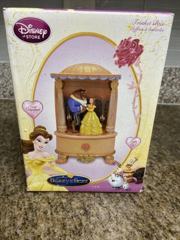 Disney Beauty And The Beast Diorama Trinket Box