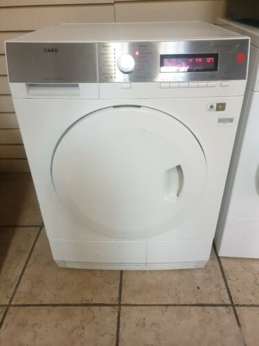 AEG T86580IH SensiDry 8KG HEAT PUMP Condenser Dryer - White + 3 MONTHS GUARANTEE
