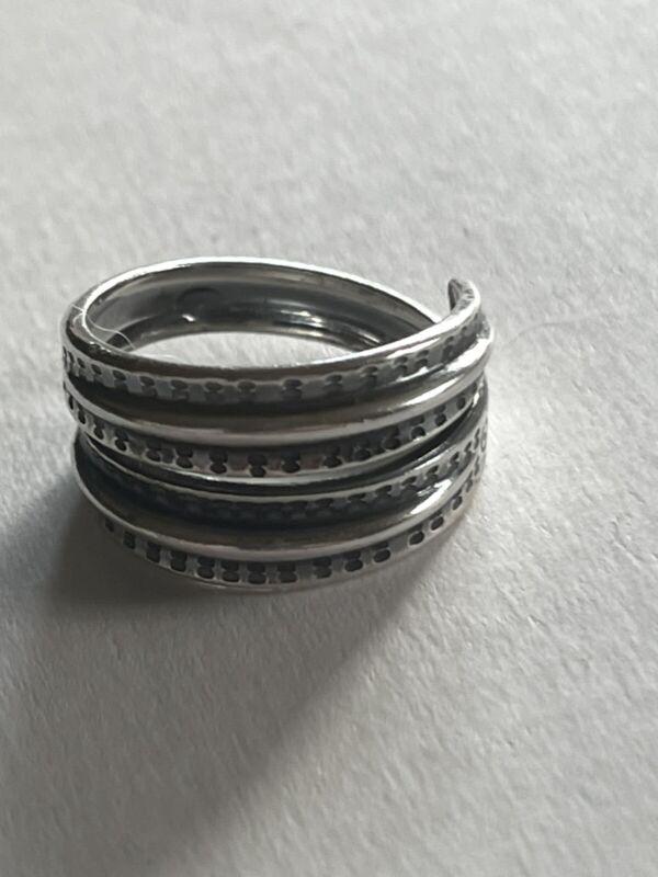 Saga David Andersen Viking Ring Sterling Silver Norway Norwegian