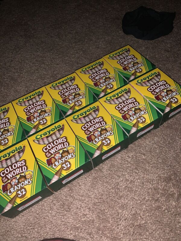 Crayola Crayons: Colors Of The World (Lot Of 10)