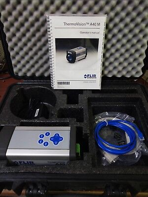 Flir Thermovision A40m 60hz Measurement Af Thermal Imaging E4 E40 T420 A320