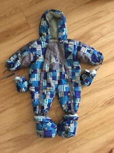 Snowsuit for a baby