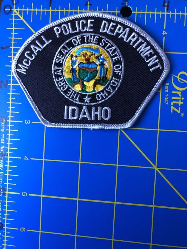 McCall Police Department Idaho Shoulder Patch MPD ID Cop Uniform Officer Payette