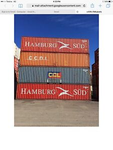 Shipping containers 40 ft GP cargo worthy supplied & delivered Cooma Cooma-Monaro Area Preview