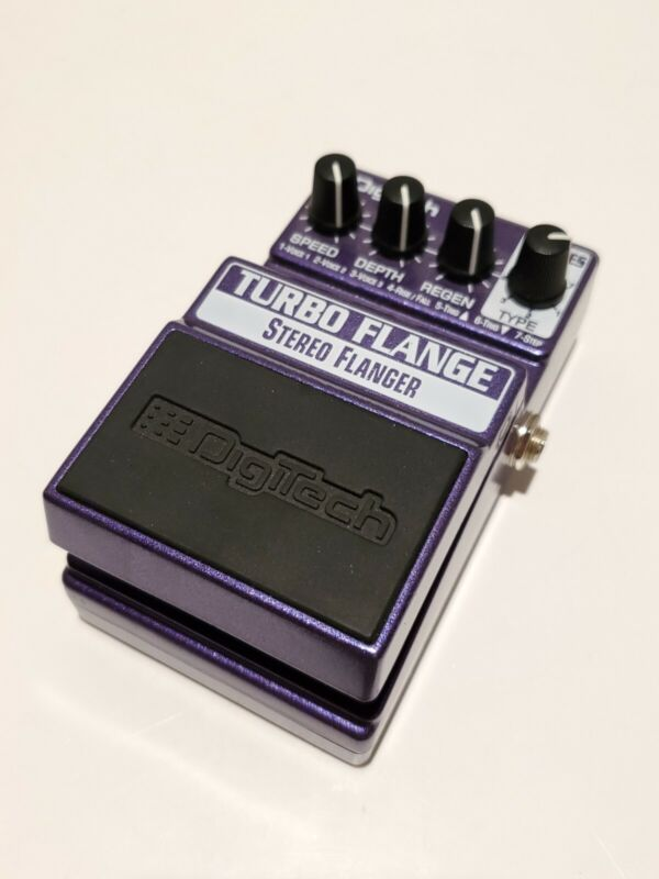 O3 Digitech XTF X-Series Turbo Flange Stereo Flanger Rare Guitar Effect Pedal