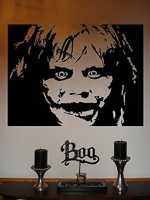 Exorcist Halloween Vinyl Wall Sticker Decal 54 in w x 40 in h