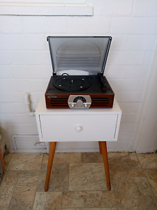 Vintage Record Player 4 sale +Retro side table!BIG GARAGE SALE!! Gladesville Ryde Area Preview