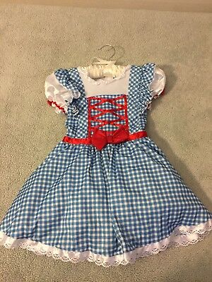 Dorothy Costume Girls Small Great Condition (Great Costumes For Girls)