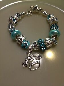 NEW* Princess Crown Charm Bracelet