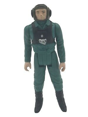 VINTAGE 1984 POTF LAST 17 STAR WARS REBEL A-WING PILOT FIGURE SCARCE NICE PAINT
