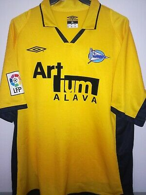 ALAVES 2002-2003 Artium camiseta shirt trikot maillot maglia umbro image