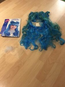 Halloween magical mermaid wig kids size 6+