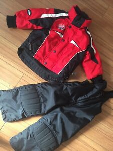 Size 3T choko snowmobile suit