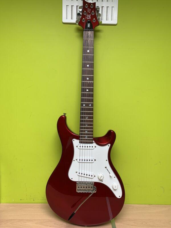 PRS Guitar SE 6 String Red Korea