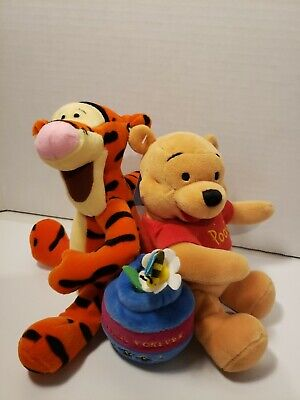 Winnie The Pooh And Tigger 2002 Friends Forever Plush