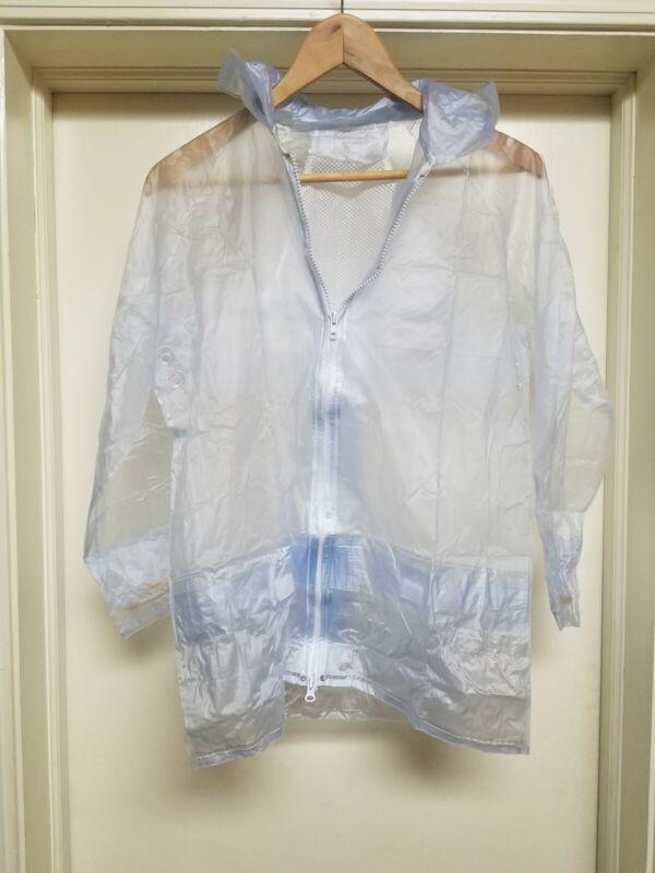 NIP Girls 8 Hunt Coat Rain cover w/ hood hunstseat show 4H jumper english jacket