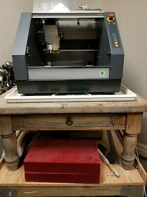 Roland Mdx-40a 3d Cnc Mill Many Extras - Lightly Used In Excellent Condition