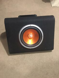 """Cadence 12"""" sub with fusion EN-1502 amp"""
