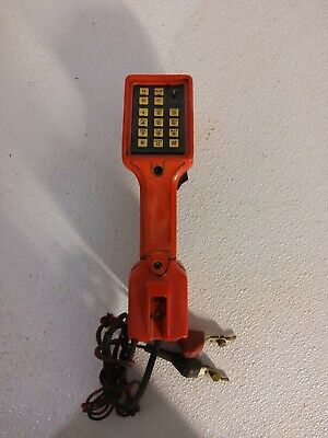 Bell South Dracon Ts22 Butt Set Test Phone Lineman Technician Vintage