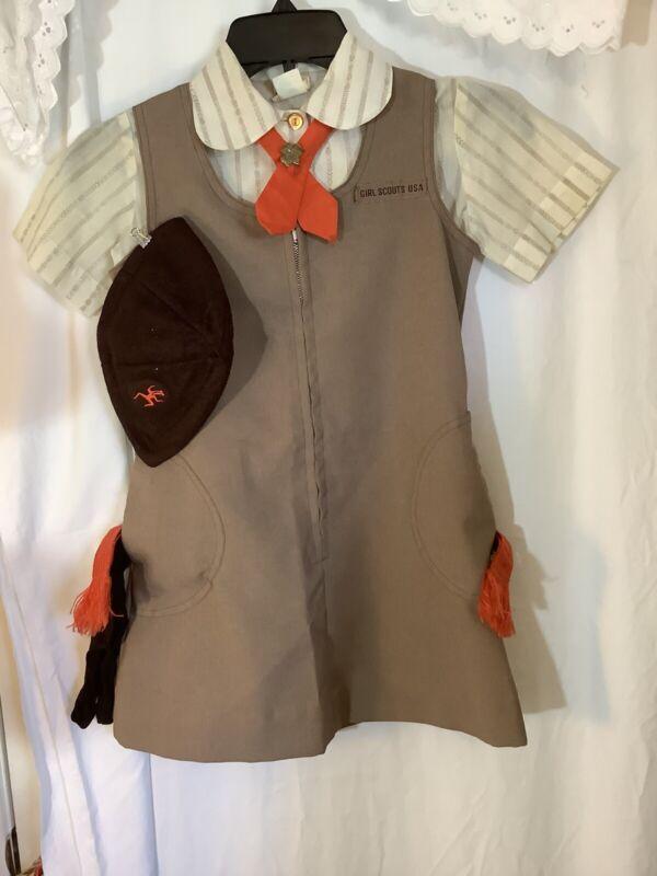 Vintage Girl Scout Uniform  Set Y 7
