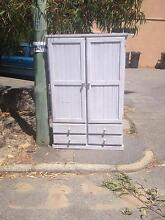 Free wardrobe whitewashed pine Spotswood Hobsons Bay Area Preview