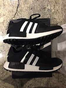 Adidas x whitemountaneering nmd r1 black
