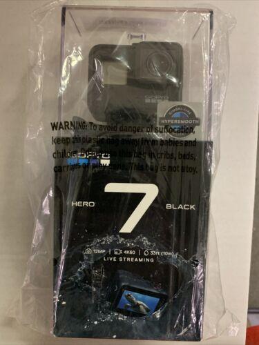New Sealed GoPro HERO7 Black 12 MP Waterproof 4K Camera Touch Screen - $220.00