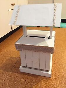 Wedding wishing well (sold pending pick up) Erskine Park Penrith Area Preview