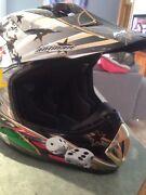 Moto cross helmet as new  Newnham Launceston Area Preview