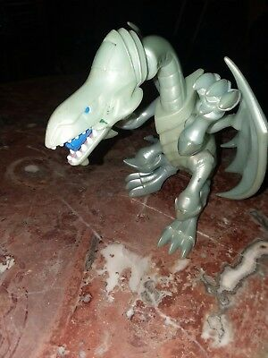 Blue Eyes White Dragon YuGiOh Kazuki Takahashi 1996 Action Figure (NO MISSLE)